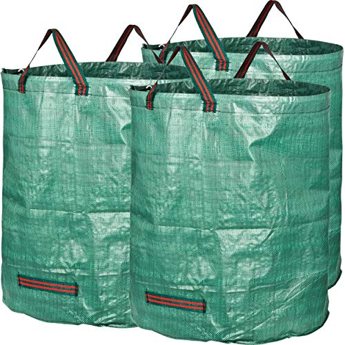 GardenMate pack of 3 large 272L garden waste bags (H76 cm, D67 cm)