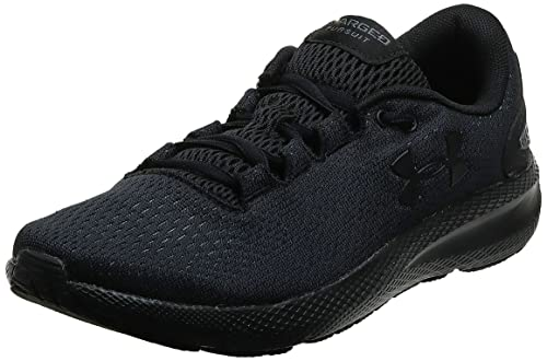Under Armour Women's Charged Pursuit 2 Running Shoe, Black, 5 UK