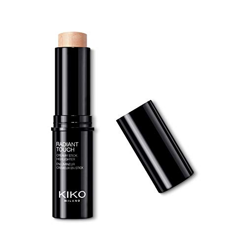 KIKO Milano Radiant Touch Creamy Stick Highlighter 100   Stick Enlumineur : Texture Onctueuse Et Fini Radieux