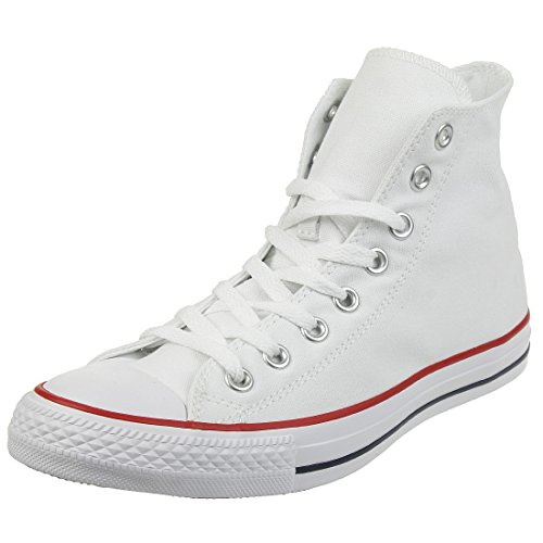 Converse All Star Hi Canvas Baskets Blanches Optiques -UK 5