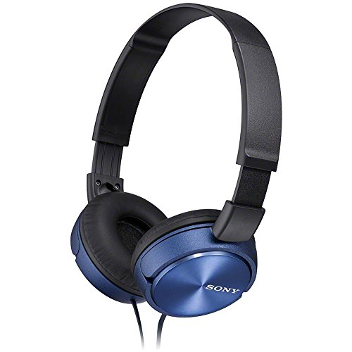 Sony MDR-ZX310L Casque Pliable - Bleu