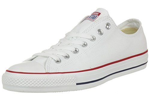 Converse All Star Ox Canvas Baskets Blanches- UK 5.5