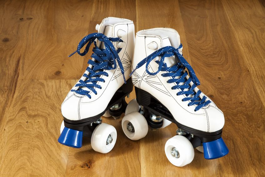 Patines azules
