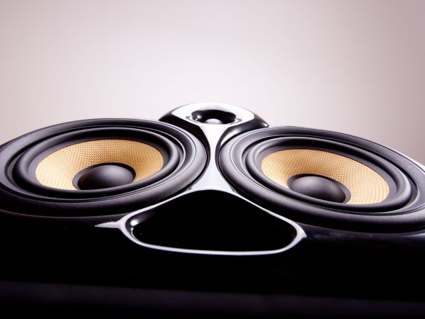 12437970 – close up of a speaker