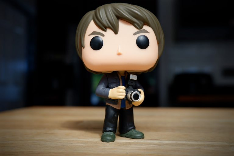 guy funko with camera
