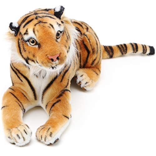 Arrow The Tiger - 17 Inch (Tail Measurement Not Included) Stuffed Animal Plush Cat - by Tiger Tale Toys